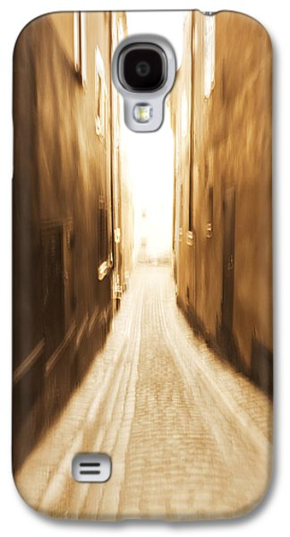 Blurred Alley - Monochrome Galaxy S4 Case by Ulrich Kunst And Bettina Scheidulin