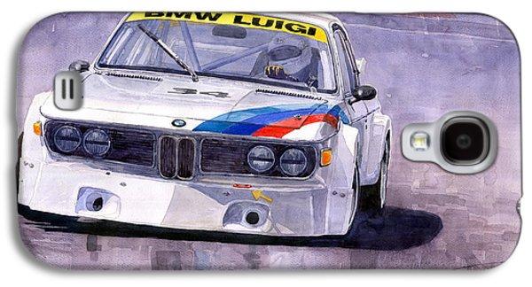Car Galaxy S4 Case - Bmw 3 0 Csl 1972 1975 by Yuriy Shevchuk