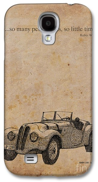 Bmw And Robin Williams Quote Galaxy S4 Case
