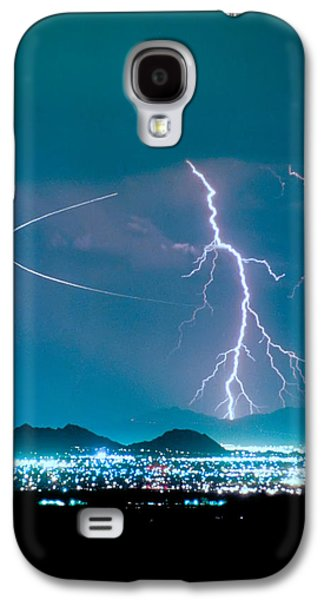 Bo Trek The Lightning Man Galaxy S4 Case by James BO  Insogna