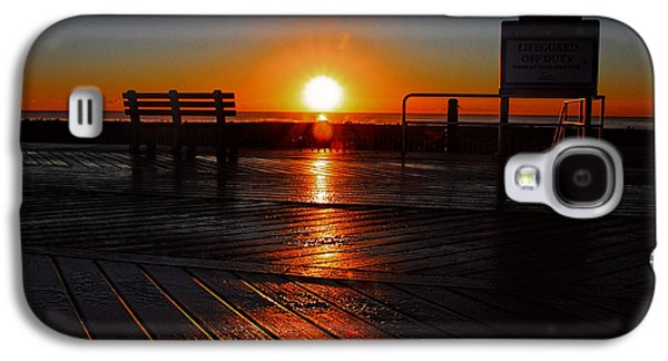 Boardwalk Sunrise Galaxy S4 Case