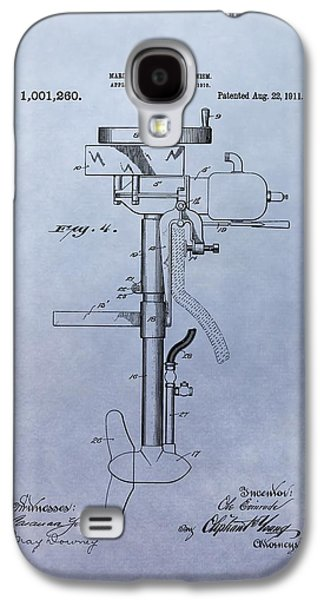 Boat Propeller Patent Drawing 1911 Galaxy S4 Case