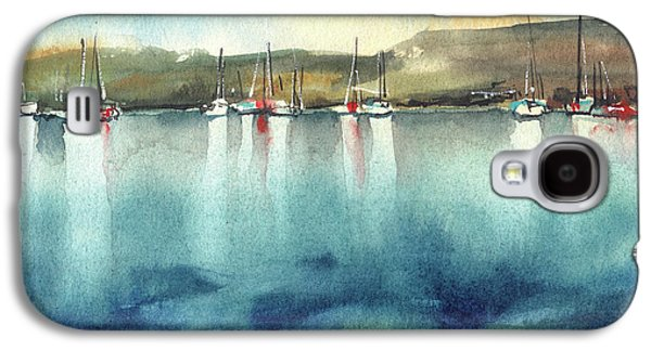 Boat Reflections Galaxy S4 Case by Sophia Rodionov
