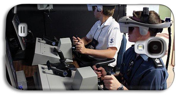 Boat Simulator Consoles Galaxy S4 Case
