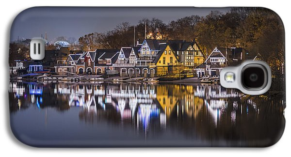 Boathouse Row Galaxy S4 Case by Eduard Moldoveanu