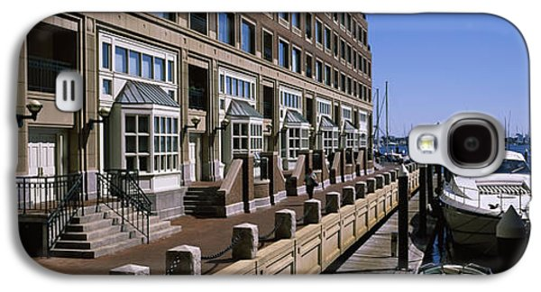 Boats At A Harbor, Rowes Wharf, Boston Galaxy S4 Case