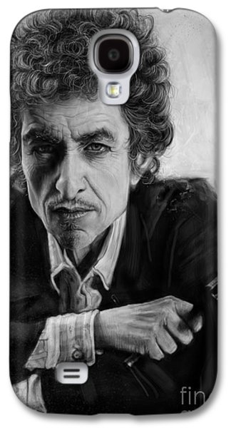 Bob Dylan Galaxy S4 Case by Andre Koekemoer