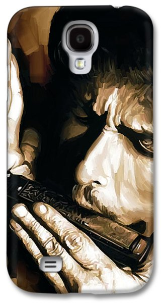 Bob Dylan Artwork 2 Galaxy S4 Case