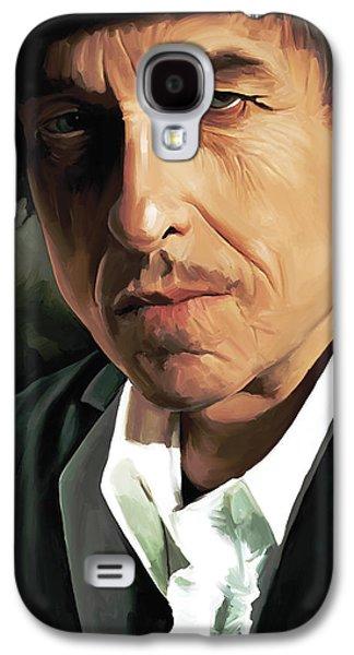 Bob Dylan Artwork Galaxy S4 Case by Sheraz A