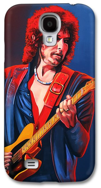 Bob Dylan Painting Galaxy S4 Case