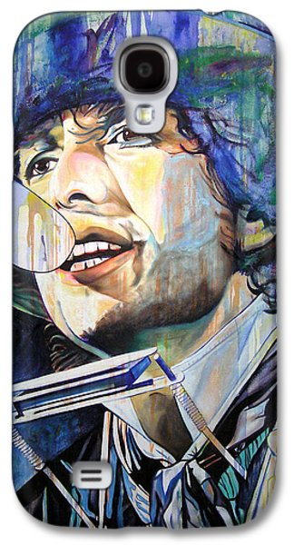 Bob Dylan Galaxy S4 Case - Bob Dylan Tangled Up In Blue by Joshua Morton