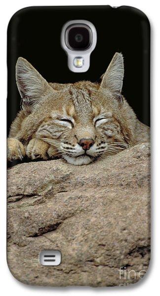 Bobcat, Arizona Galaxy S4 Case by Art Wolfe