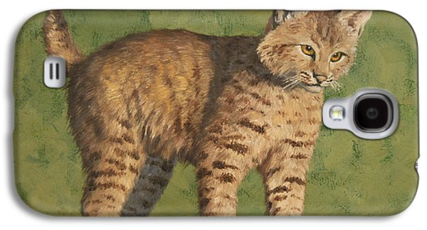 Bobcat Kitten Galaxy S4 Case