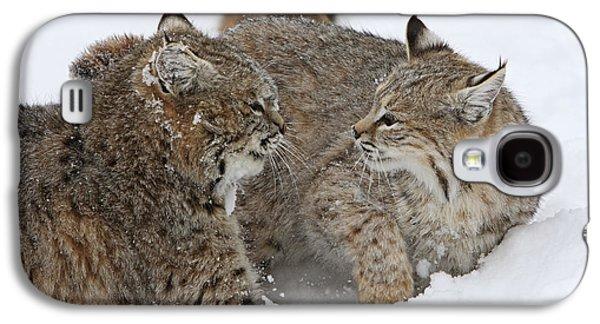 Bobcats Galaxy S4 Case by M. Watson