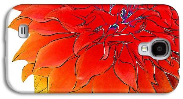Bob's Flower Galaxy S4 Case by Cindy Edwards