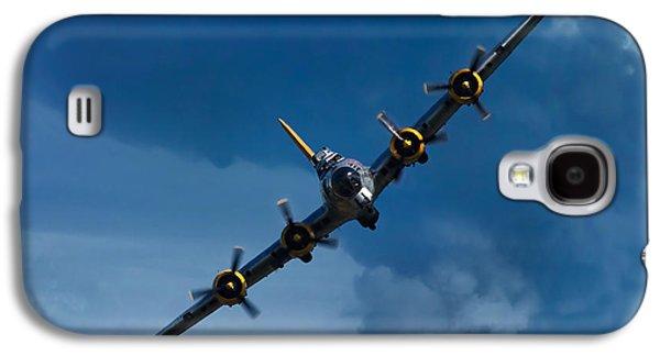 Airplane Galaxy S4 Case - Boeing B-17 Flying Fortress by Adam Romanowicz