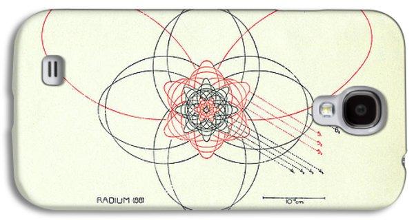 Bohr's Radium Atom Galaxy S4 Case