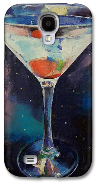 Bombay Sapphire Martini Galaxy S4 Case by Michael Creese