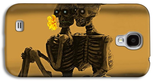 Bones In Love  Galaxy S4 Case by David Dehner