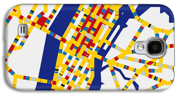 Boogie Woogie New York Galaxy S4 Case by Chungkong Art