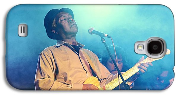 Booker T Jones Us Blues Singer Musician Performing At Maryport Blues Festival  2010 England Galaxy S4 Case by David Lyons