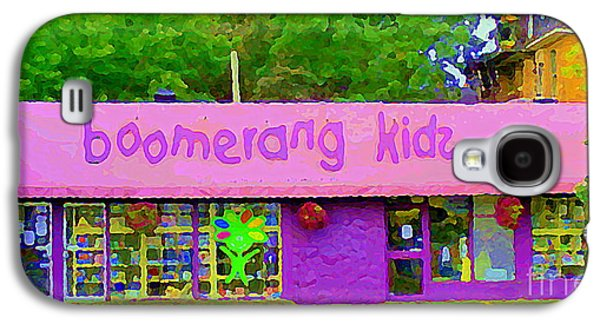 Boomerang Kids Baby Store Kiddies Clothing Consignment Shop The Glebe Paintings Of Ottawa C Spandau Galaxy S4 Case