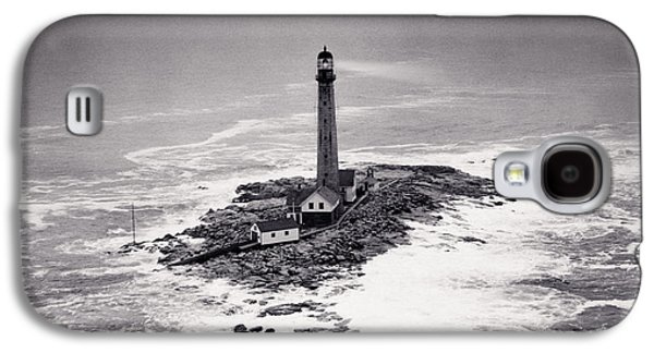Boon Island Light Tower Circa 1950 Galaxy S4 Case by Aged Pixel