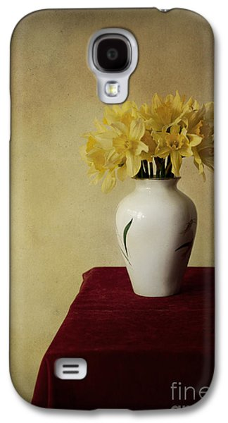 Boquet Of Daffodils In White Pot  Galaxy S4 Case