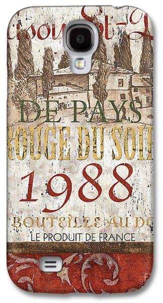 Bordeaux Blanc Label 1 Galaxy S4 Case by Debbie DeWitt