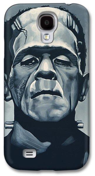 Boris Karloff As Frankenstein  Galaxy S4 Case by Paul Meijering