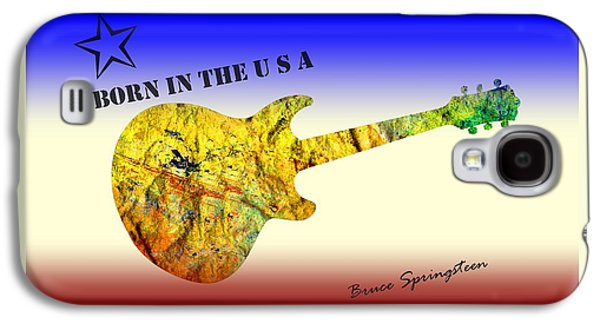 Born In The U S A Bruce Springsteen Galaxy S4 Case