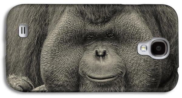 Bornean Orangutan II Galaxy S4 Case by Lourry Legarde