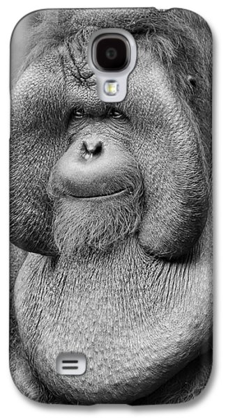 Bornean Orangutan IIi Galaxy S4 Case by Lourry Legarde
