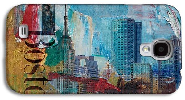 Boston City Collage 3 Galaxy S4 Case
