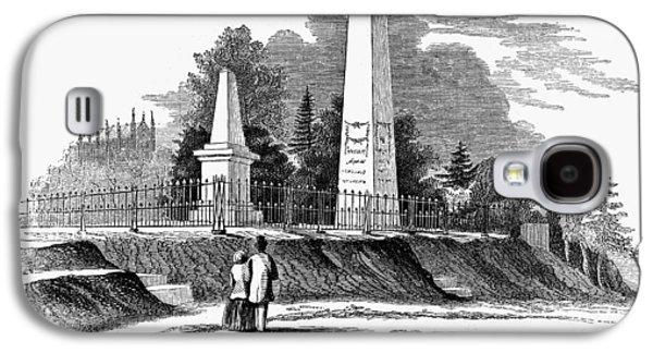 Boston Mount Auburn, 1854 Galaxy S4 Case by Granger