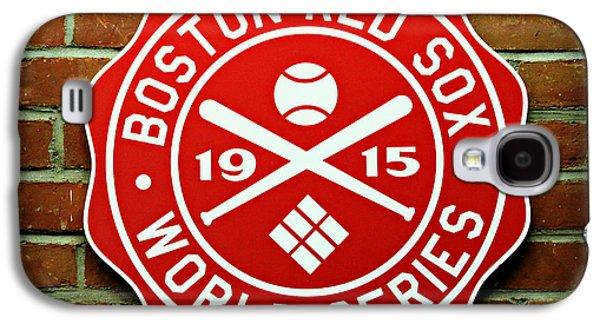 Boston Red Sox 1915 World Champions Galaxy S4 Case by Stephen Stookey