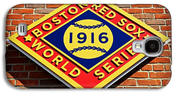 Boston Red Sox 1916 World Champions Galaxy S4 Case by Stephen Stookey