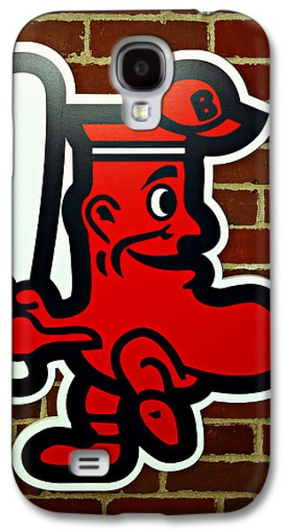 Boston Red Sox 1950s Logo Galaxy S4 Case by Stephen Stookey