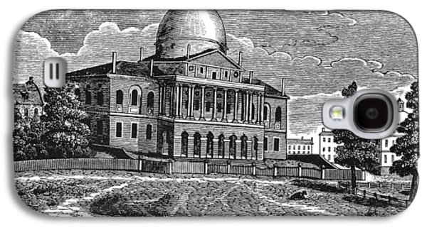 Boston State House, 1817 Galaxy S4 Case by Granger