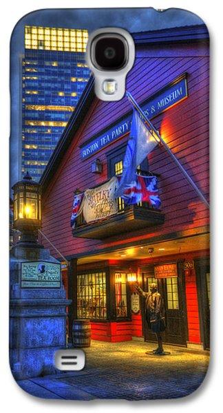 Boston Tea Party Museum At Night Galaxy S4 Case