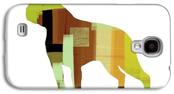 Boston Terrier Galaxy S4 Case by Naxart Studio