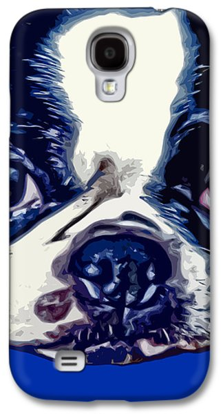 Boston Terrier Pop Art 2 Galaxy S4 Case by David G Paul