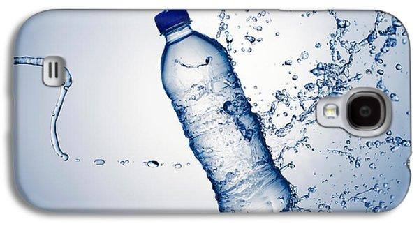 Bottle Water And Splash Galaxy S4 Case by Johan Swanepoel