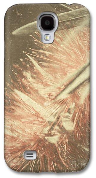 Bottlebrush Fine Art Illustration Galaxy S4 Case
