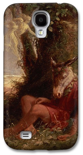 Bottom Asleep, 1891 Galaxy S4 Case by Sir Hubert von Herkomer