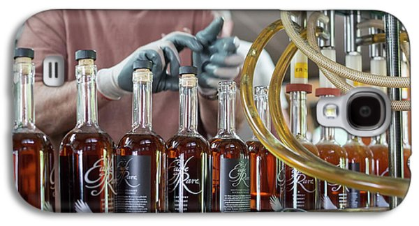 Bourbon Bottling Production Line Galaxy S4 Case by Jim West