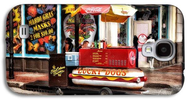 Bourbon Street Lucky Dog Galaxy S4 Case by Bill Cannon