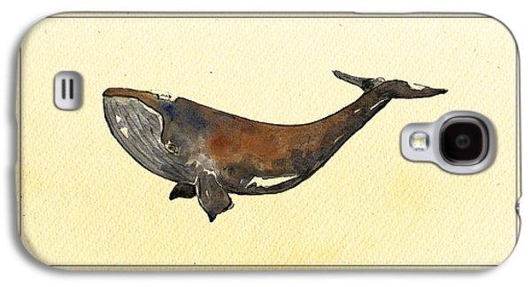 Bowhead Whale Galaxy S4 Case by Juan  Bosco