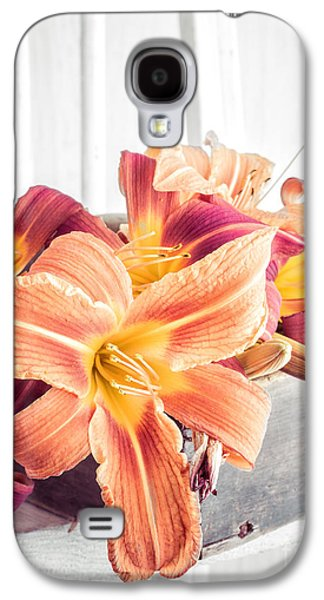 Box Of Day-lily  Galaxy S4 Case by Edward Fielding