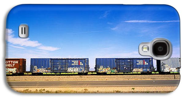 Boxcars Railroad Ca Galaxy S4 Case by Panoramic Images